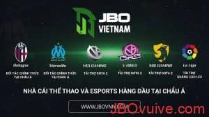 JBO là đối tác của nhiều câu lạc bộ và đội bóng nổi tiếng
