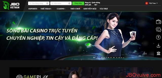 Sảnh casino chuyên nghiệp