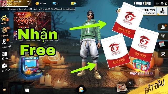 Thẻ game miễn phí