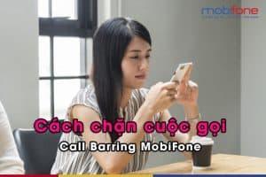 Gói cước chặn cuộc gọi bằng ứng dụng của Mobifone khá dễ đăng ký và rẻ.