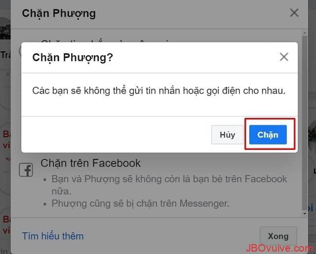 Khi tài khoản bị chặn Messenger thì sẽ như thế nào?