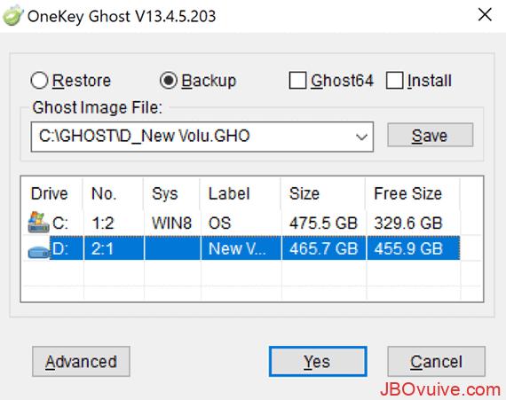 Lựa chọn ổ đĩa lưu trữ bản ghost phù hợp