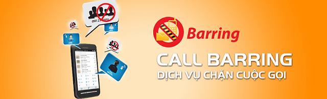 Chặn số điện thoại bằng dịch vụ Call Barring Mobifone