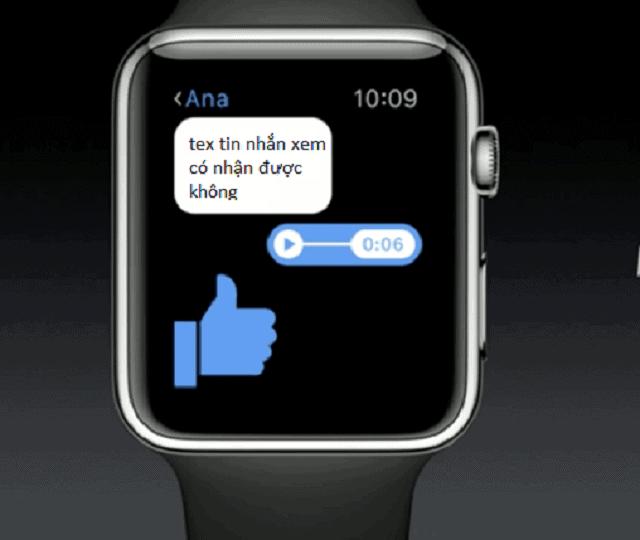 Có rất nhiều người đã sử dụng Zalo trên Apple Watch