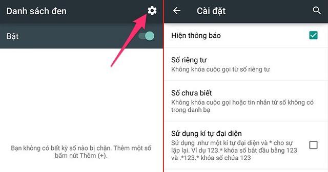 Điện thoại sử dụng hệ điều hành Android chặn có nhắn tin được không?