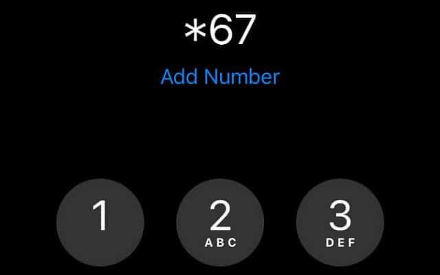 Giấu số điện thoại và thực hiện gọi lại