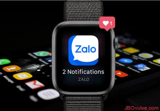 Hướng dẫn cách tải Zalo cho Apple Watch